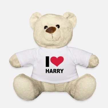 Harry I love Harry, Windsors, Prince Harry, Harry, - Teddybeer