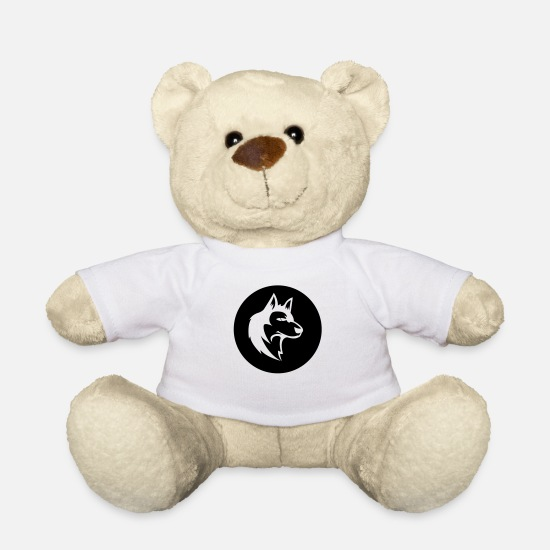 Werewolf Teddy Bear Toys - wolf_02 - Teddy Bear white