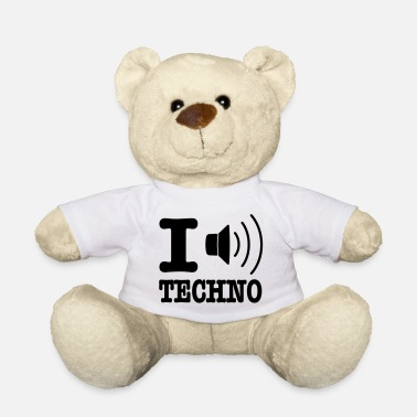 Musica I love techno / I speaker techno - Orsetto