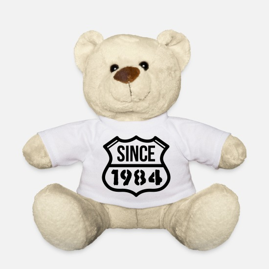 Eighties Teddy Bear Toys - 1984 - Teddy Bear white