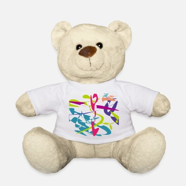Curves Curved tangram - Teddy Bear