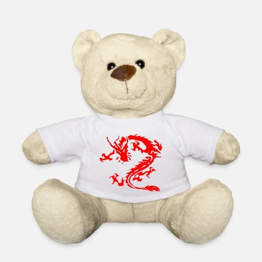 Tribal Dragon tribal dragon - Teddy Bear