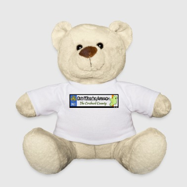ARMAGH, NORTHERN IRELAND licence plate tags decal - Teddy Bear