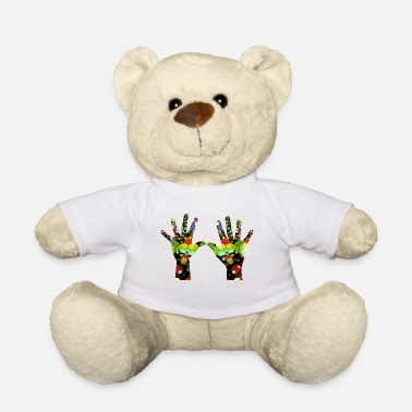 Hand-in-hand hands - Teddy Bear