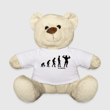 Evolution bodybuilding bodybuilder gift - Teddy Bear