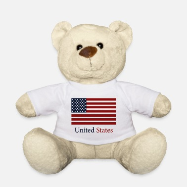 State flag of the united states - Teddy Bear