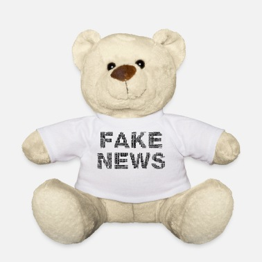 Fake FAKE NEWS - Teddybeer