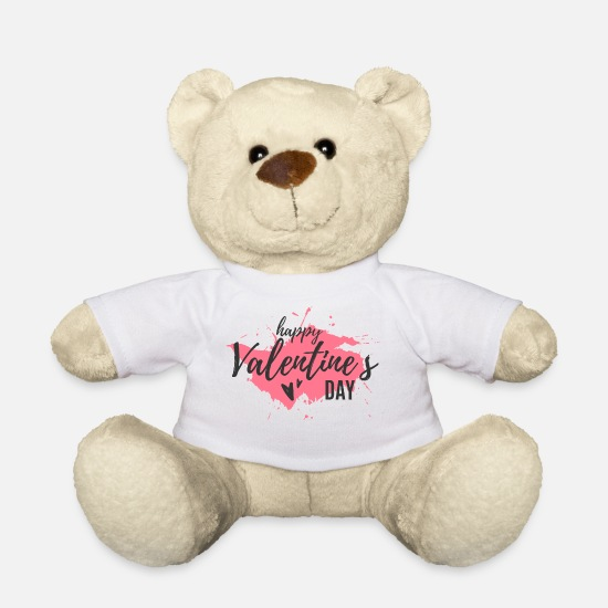 Valentin Teddy Bear Toys - valentine - Teddy Bear white