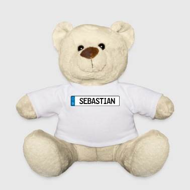 Sebastian name tag gift - Teddy Bear