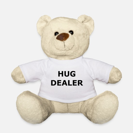 Hug Teddy Bear Toys - Hug dealer - hug me - hug - Teddy Bear white