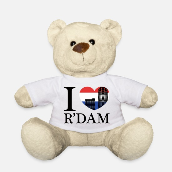 Rotterdam Teddy Bear Toys - Rotterdam - Netherlands - Holland - Randstad - Teddy Bear white