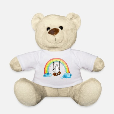 Unicorn swing rainbow - Teddy Bear
