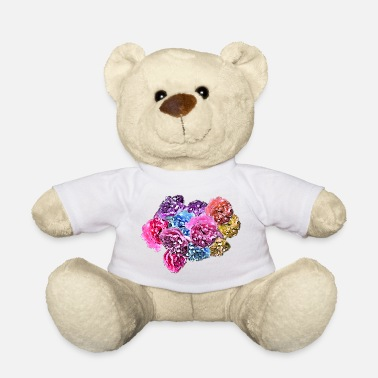Rose Roses & Roses - Teddy Bear