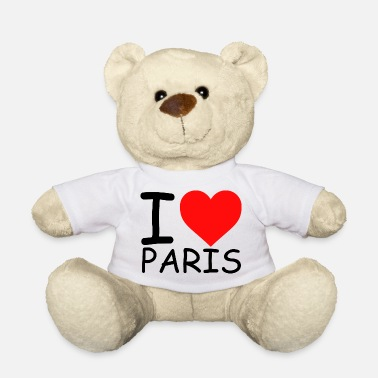 I Love Paris I Love Paris libe Paris Love Paris Heart Paris - Osito de peluche