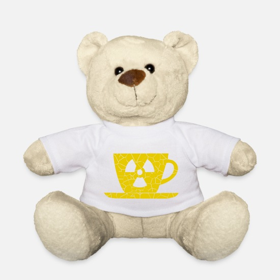 Stylish Knuffeldieren - Cafe mok - Teddybeer wit