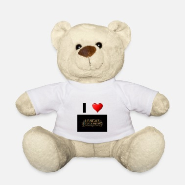 League Of Legends League of Legend Gaming love gift idea - Teddy Bear