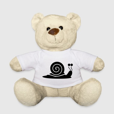 Snail Shell Snail with snail shell - Teddy Bear