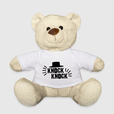 Knock Knock with hat - Teddy Bear