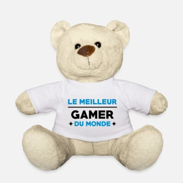 Anonymous Le meilleur Gamer du monde / Gaming - Ours en peluche