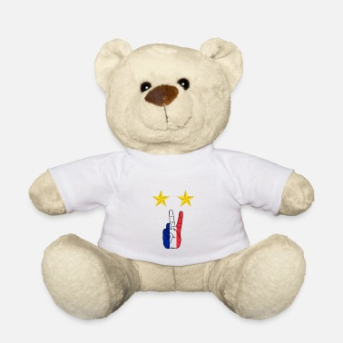 Coupe Du Monde Champion du monde de football Peace France - Nounours