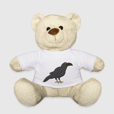 Halloween crow bird birds - Teddy Bear