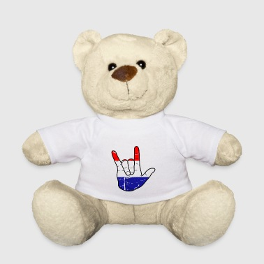 Netherlands Victory Victory sign - Teddy Bear