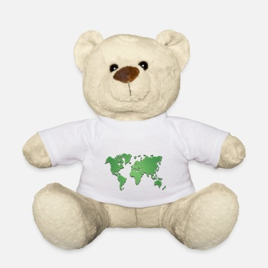 World World world map - Teddy Bear