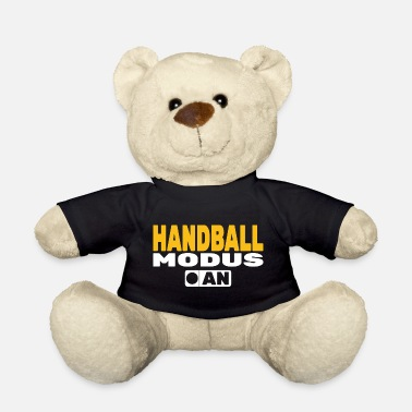 Jump Shot Mode on Handball Handballer - Teddy Bear