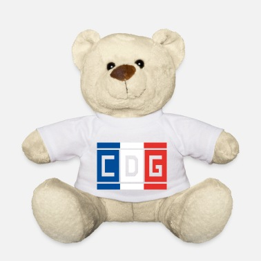 National France - Paris Airport Charles de Gaule - Teddy Bear