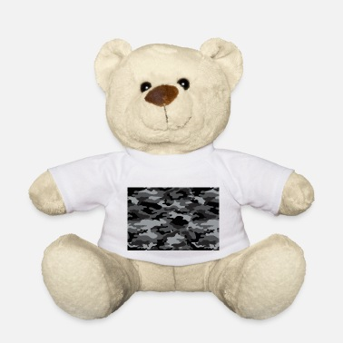 Camo dark camo - Teddy Bear