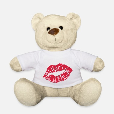 Smacker Kissing Lips / Kussmund / Baiser / Beso / Bacio / - Teddy Bear