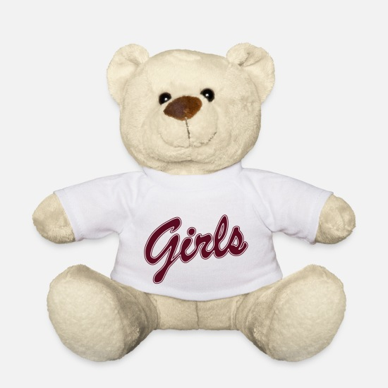 Girlfriend Teddy Bear Toys - THE CAUSE AND THE SOLUTION OF ALL EVIL :-) - Teddy Bear white
