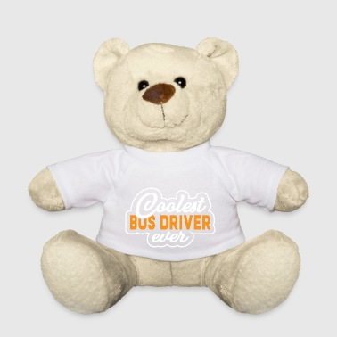 Coolest Bus Driver Ever - Bus Bus Driver Gift - Teddy Bear