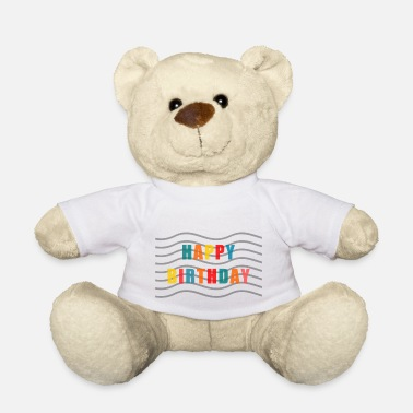 Happy Birthday Happy Birthday - Ours en peluche