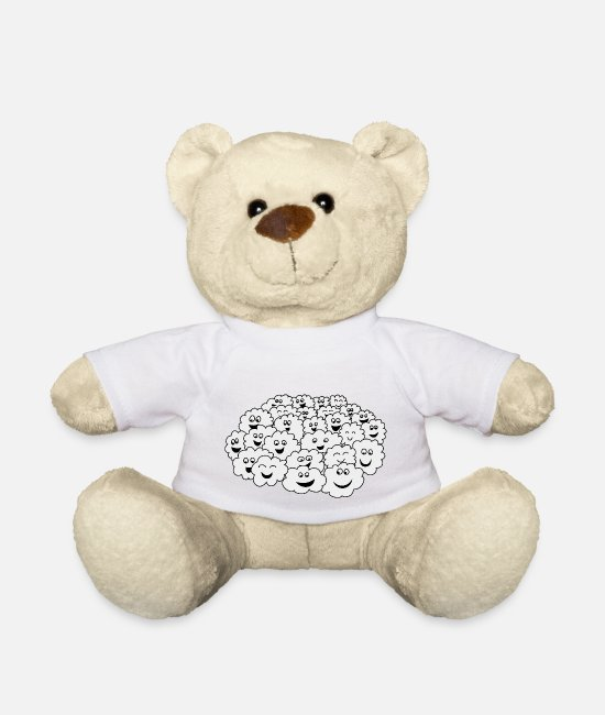 Nature Teddy Bear Toys - Cloud of clouds - Teddy Bear white