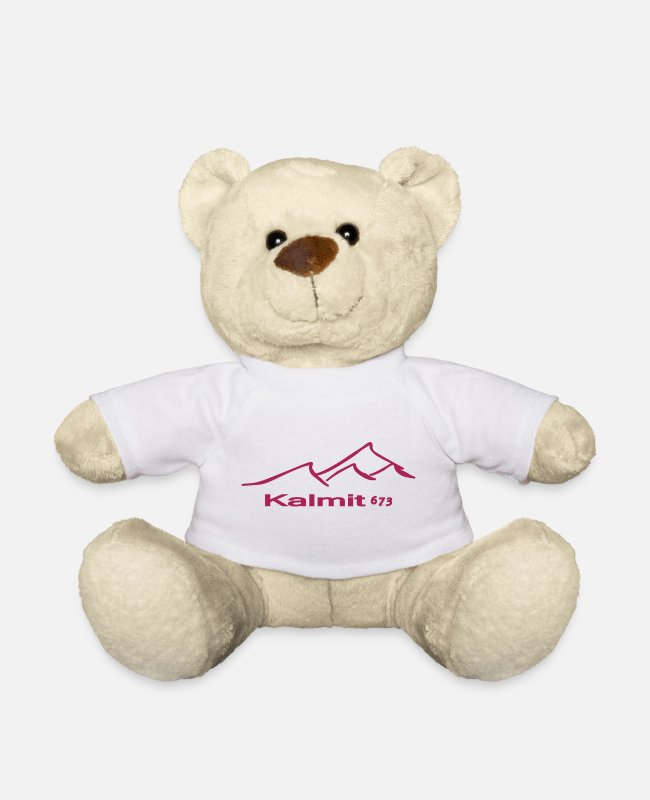 Sport Climbing Teddy Bear Toys - Kalmit Mountaingirl - Teddy Bear white