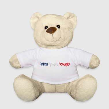BLUE WHITE RED TAGG - Teddy Bear