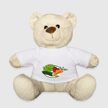 Vegetable Vegetables - Teddy Bear