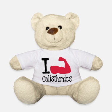 I love calisthenics_red - Teddy Bear