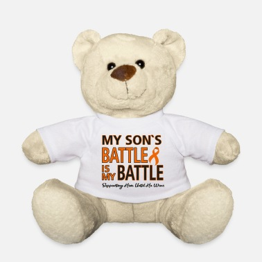 Fight Cancer Battle Son - Teddy Bear