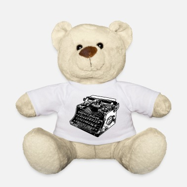 Old typewriter - Teddy Bear