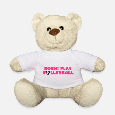 Born to play Volleyball - Osito de peluche