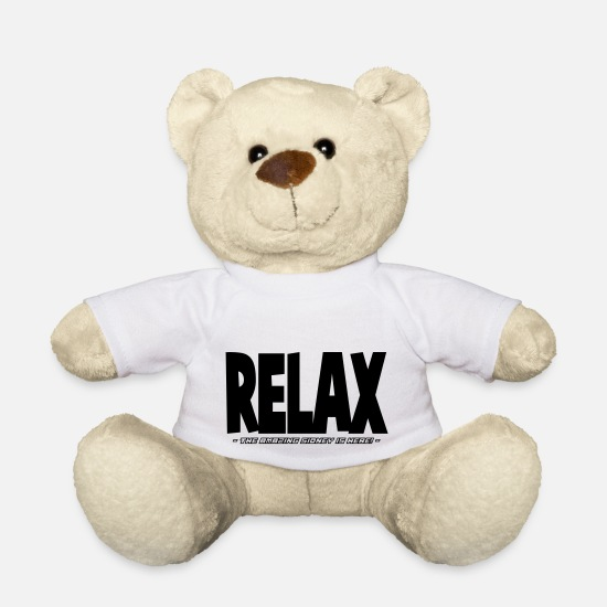 Sidney Teddy Bear Toys - relax the amazing sidney is here - Teddy Bear white