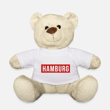 Club De Football Maillot de football du club de sport du club de football de Hambourg - Ours en peluche