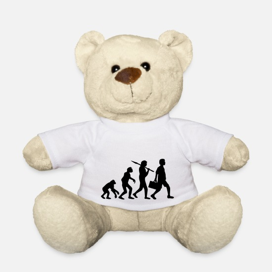 Development Teddy Bear Toys - Evolution - Teddy Bear white