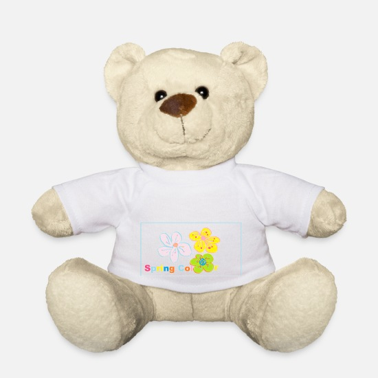 Feather Teddy Bear Toys - dosen o5 - Teddy Bear white