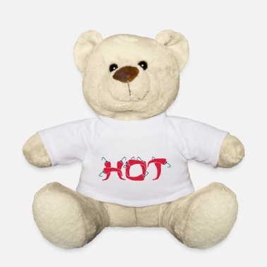 Chilli Pepper Hot chili peppers hot chillies Scharf - Teddy Bear