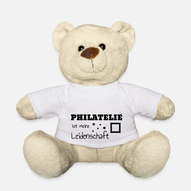 Philatelist Philatéliste Stamp Philatelie Philatelist Stempel - Teddy Bear