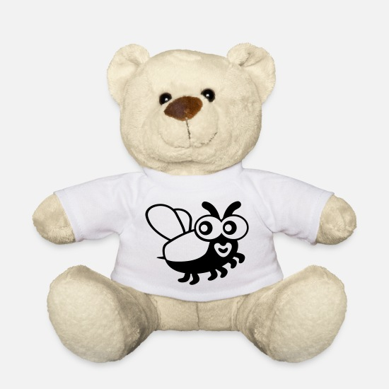 Nature Teddy Bear Toys - Bug - Teddy Bear white
