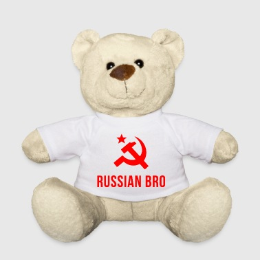russian bro russian brother - Teddy Bear